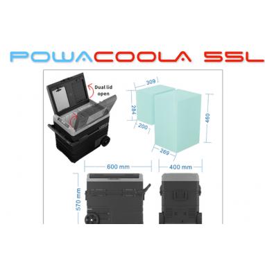 Powapacs - Powacoola Fridge - 55L
