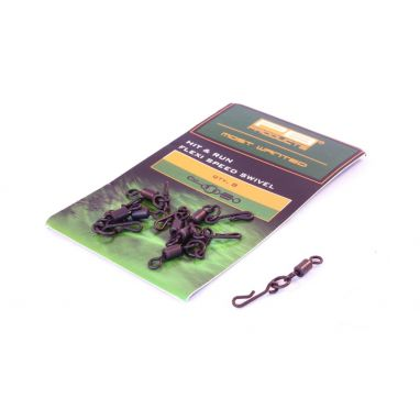 PB Products - Hit And Run Flexi Ring Swivels Size 8