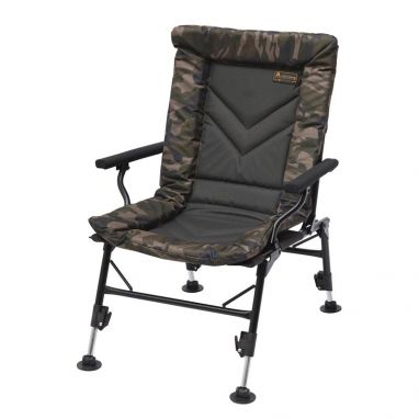 Prologic - Avenger Relax Camo Chair With Armrests & Covers