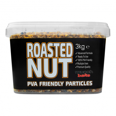 Munch Baits - Roasted Nut 3kg Particle Bucket