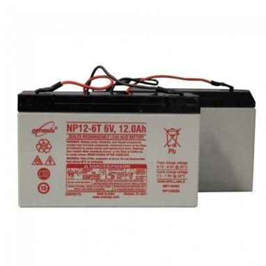 Angling Technics - Spare Boat Batteries 6v 12Ah