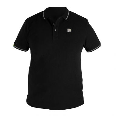 Preston - Black Polo