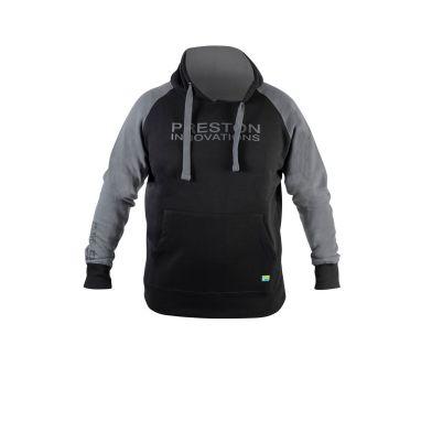 Preston - Black Pullover Hoody