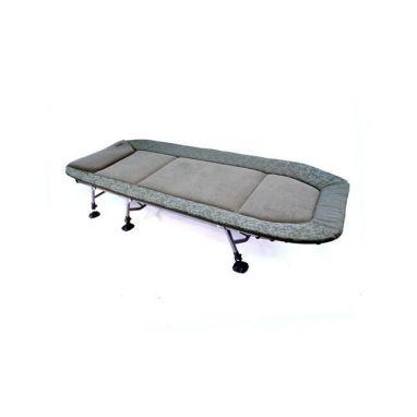 Skills - Camo Olive Spring Leg Bedchair