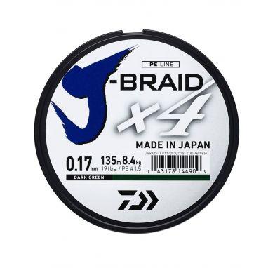 Daiwa - J Braid X4 Green