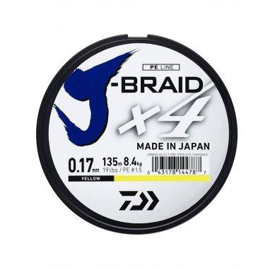 Daiwa - J Braid X4 Yellow