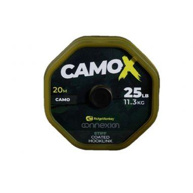 Ridgemonkey - Connexion CamoX Stiff Coated Hooklink