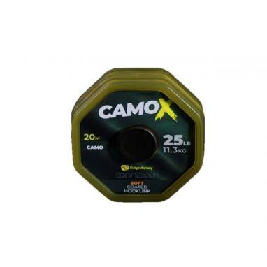 Ridgemonkey - Connexion CamoX Soft Coated Hooklink