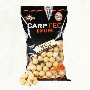 Dynamite Baits - Carp-Tec Shelf Life Boilie 2kg - Garlic & Cheese 15mm