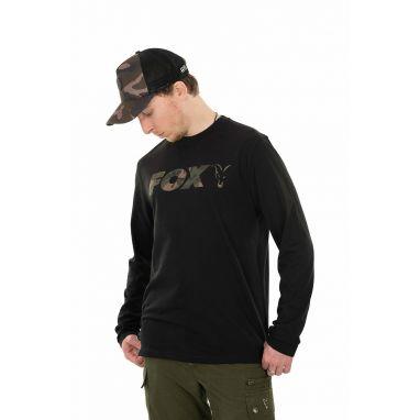 Fox - Black / Camo Long Sleeve T-Shirt