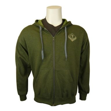 Cotswold Aquarius - Olive Zipped Hoody