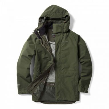 Craghoppers - Ashton Long Interactive Goretex Green Jacket