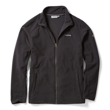 Craghoppers - Kiwi Interactive Black Fleece Jacket