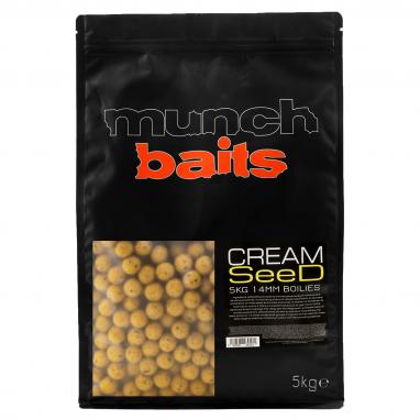 Munch Baits - Cream Seed Boilies - 5kg