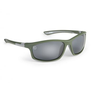 Fox - Green & Silver Frame With Grey Lens
