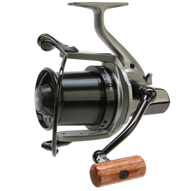 Daiwa - DCR5 Basia Custom Reel - Grey Body/Black Spool Wooden Handle