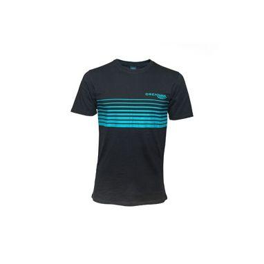 Drennan - Black And Aqua T Shirt