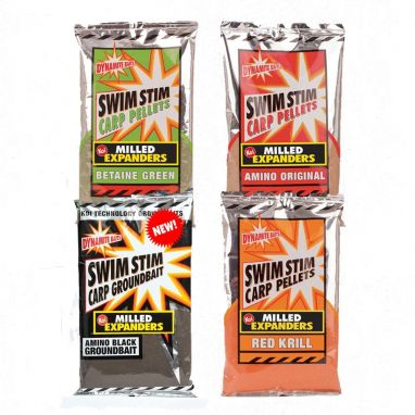Dynamite Baits - Swim Stim - Milled Expanders Amino Black - 750g