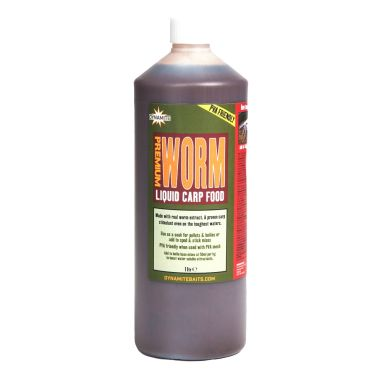 Dynamite Baits - Worm Liquid Carp Food - 1ltr