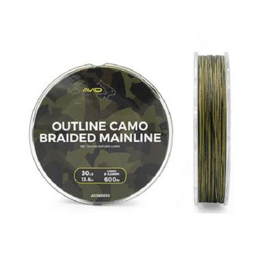 Avid - Outline Camo Braided Mainline