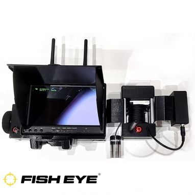 Fish Eye - Winch Cam Pro For X Boat Inc Battery
