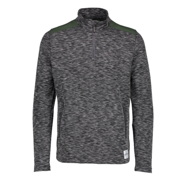 Aqua Products - Funnel Neck Charcoal Mid Layer Top