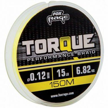 Fox Rage - Torque Yellow Braid 150m