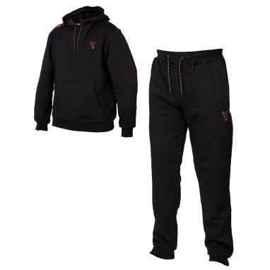 Fox - Collection Black And Orange Hoody And Jogger