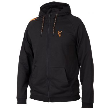 Fox - Collection Black And Orange Lightweight Hoody