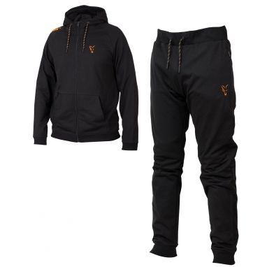 Fox - Collection Black And Orange Lightweight Hoody And Jogger