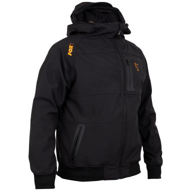Fox - Collection Black And Orange Shell Hoody