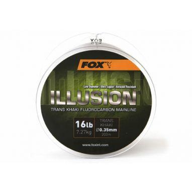 Fox - Illusion Trans Khaki Fluorocarbon Mainline