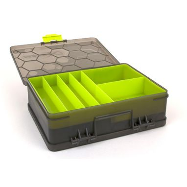 Matrix - Double Sided Feeder Tackle Box