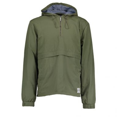 Aqua Products - Half Zip Khaki Jacket Smock