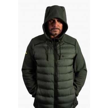 Ridgemonkey - APEarel Heavyweight Zip Jacket Green