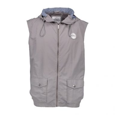 Aqua Products - High Neck Grey Hooded Gilet