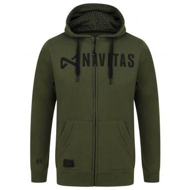 Navitas - CORE Green Zip Hoody