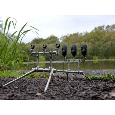 Carp Spirit - Inox - Rod Pod Complete - 3/4 Rods