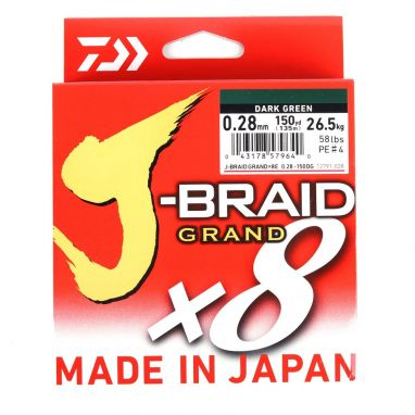 Daiwa - J Braid Grand - Green