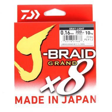Daiwa - J Braid Grand - Grey