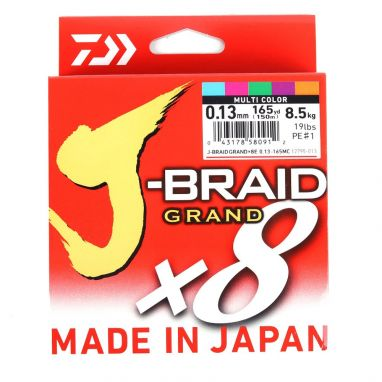 Daiwa - J Braid Grand - Multi Colour