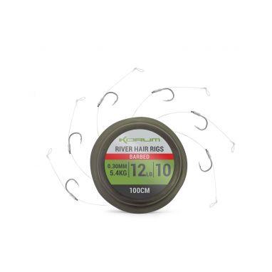 Korum - Supersteel River Hair Rigs 1m