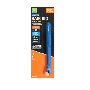 "Preston - Kkh-B Banded Hair Rigs 4""/10cm"