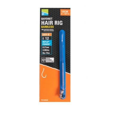 """Preston - Kkh-B Bayonet Hair Rigs 4""""/10cm"""