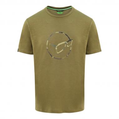 Korda - LE Distressed Logo Tee Olive