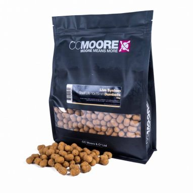 Live System Dumbell Boilies - 15x18mm