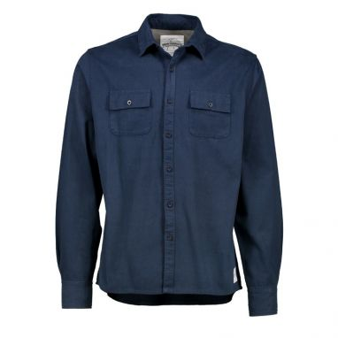 Aqua Products - Navy Twill Long Sleeve Shirt