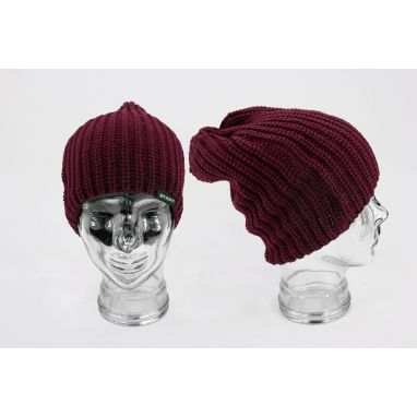Sticky Baits - Knitted Beanie Maroon