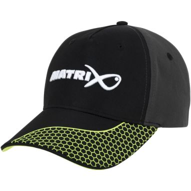 Matrix - Grey And Lime Baseball Cap