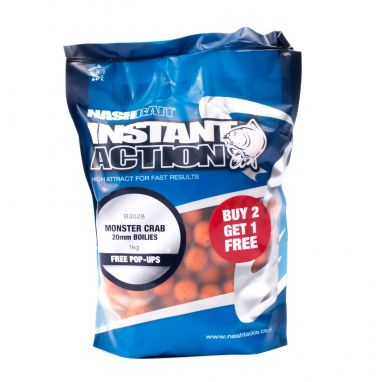 Nash - Instant Action Monster Crab Boilies